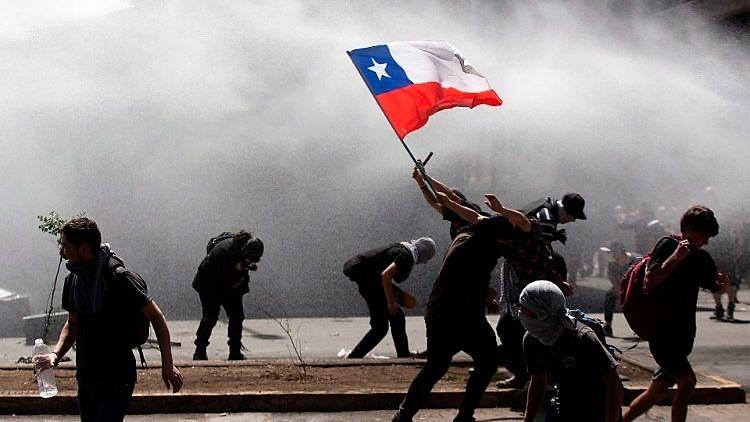 Insurrezione – il racconto di un compagno cileno