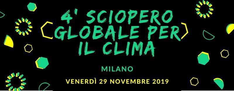 Milano Strikes for the Planet 4.0: manifestazione per il clima – 29 novembre @ Oberdan