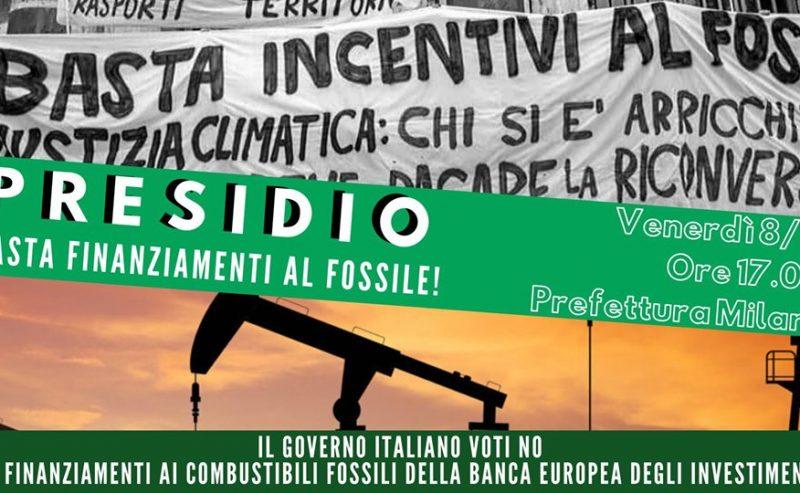 Presidio: basta finanziamenti al fossile!