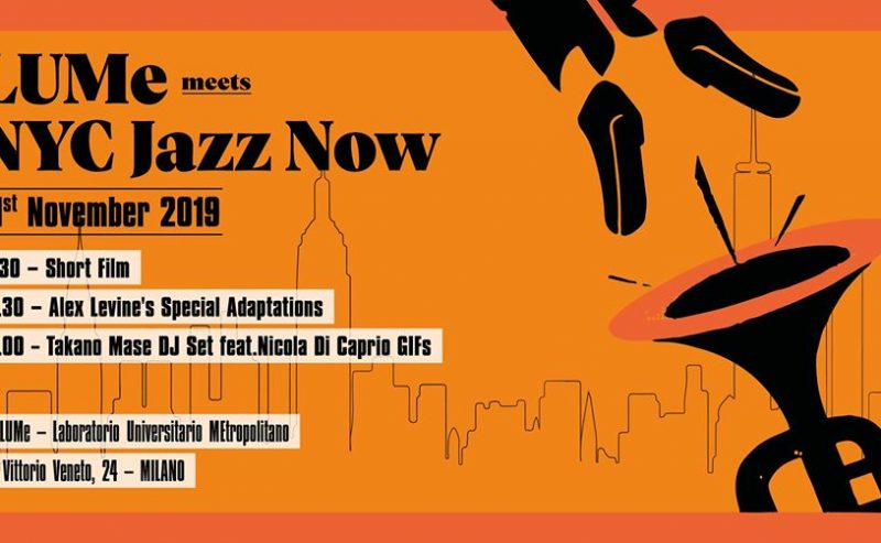 Lume Meets NYC Jazz Now Vol. II – 21 novembre