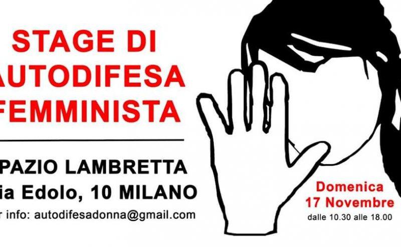 Stage di autodifesa femminista – 17 novembre @ Lambretta
