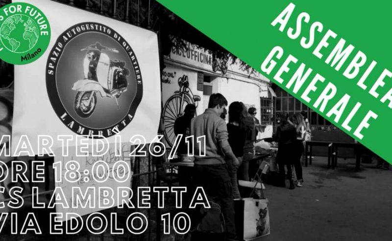 Ultima assemblea prima del 4° sciopero @ Lambretta | 26 novembre
