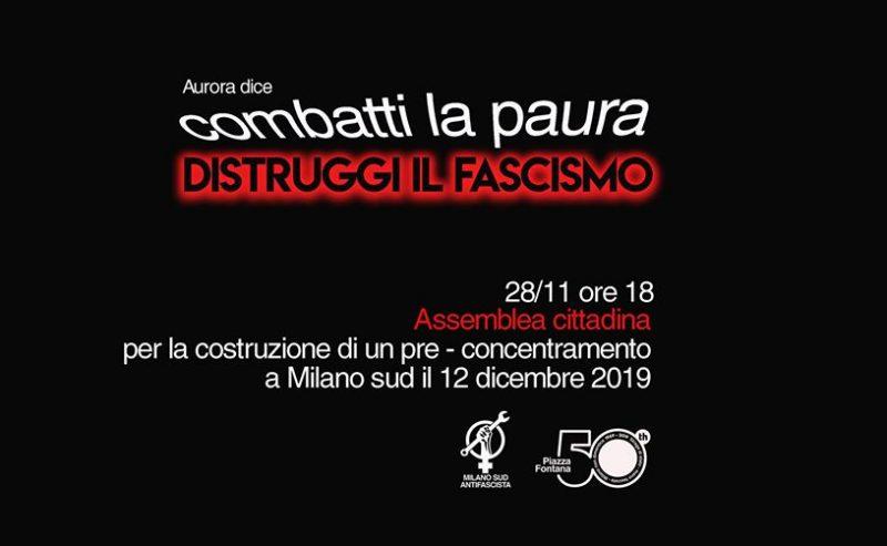 Pre-Concentramento MI SUD antifa_assemblea @ 28 novembre @ ZAM