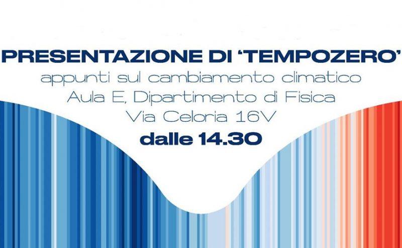 5/12 – Presentazione della fanzine 'TempoZero' @ Dip. Fisica