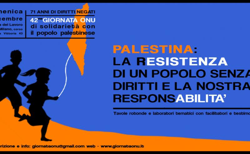 Palestina: la resistenza di un popolo senza diritti e la nostra responsabilità