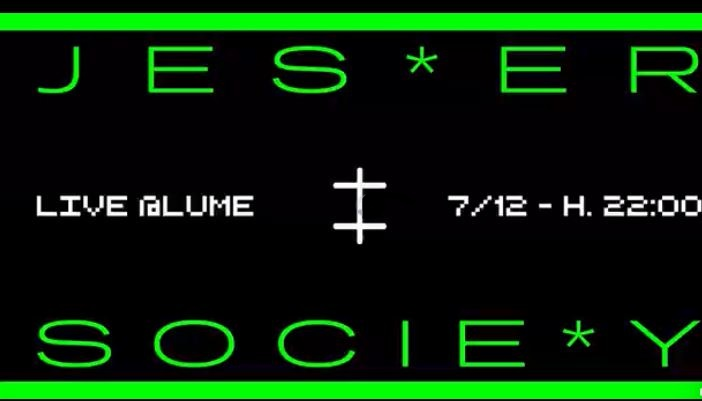 Jester Society | Live @ LUMe – 7 dicembre