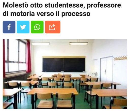 Il Collettivo autonomo Itsos Steiner sulla vicenda di un professore accusato di molestie