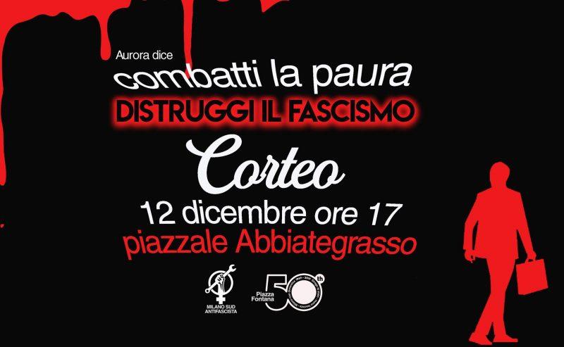 12 dicembre_CORTEO_Pre-concentramento MI SUD