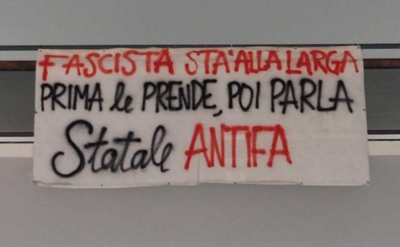 Fascisti cacciati dall'Università Statale di Milano