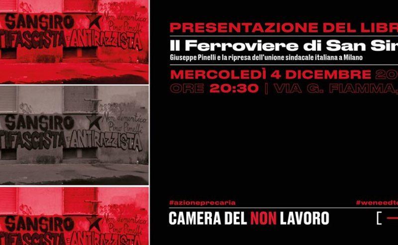 """Presentazione del libro """"Il Ferroviere di San Siro"""" @ CdNL"""