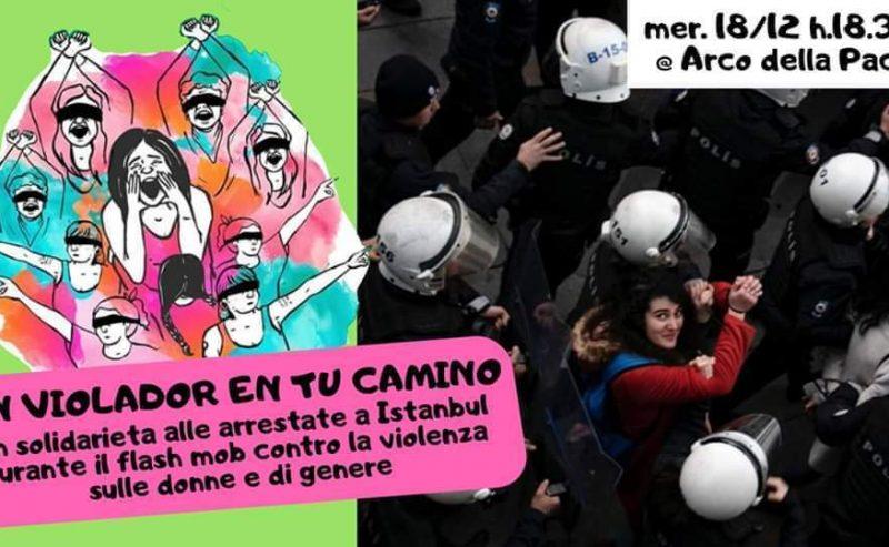"""""""Un Violador En Tu Camino"""", in solidarietà con Istanbul – 18 dicembre @ Arco della Pace"""