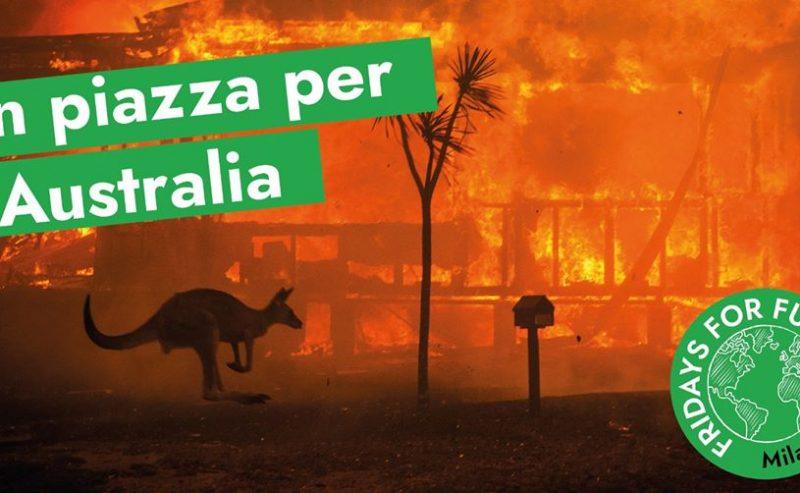 Sciopero al Consolato Australiano – #AustraliaOnFire – 17 gennaio @ via Borgogna 2