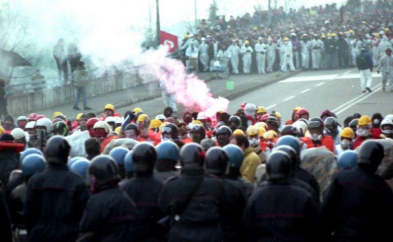 29 gennaio 2000 – Il corteo contro via Corelli