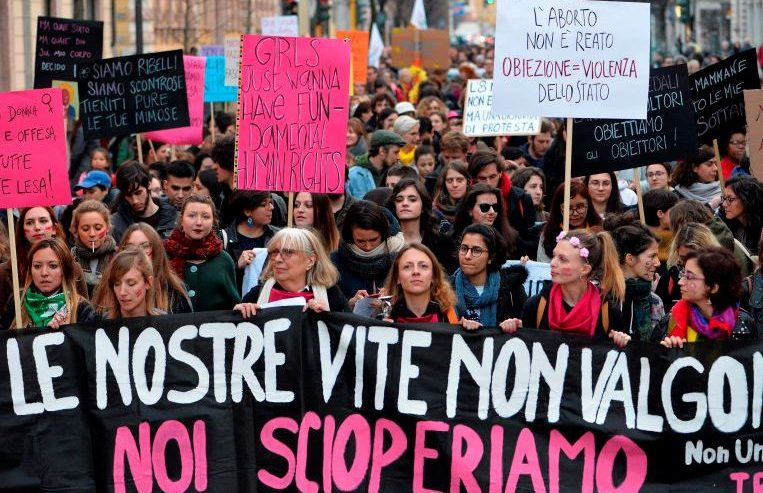 Lettera aperta di NonUnaDiMeno per l'indizione dello sciopero generale femminista del 9 marzo