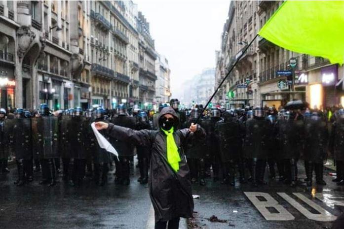 4° Grève Genéralé – 'continuons sans crainte'