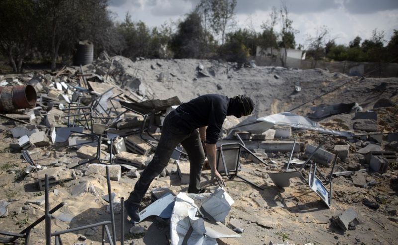Ruspe israeliane in azione, escalation a Gaza