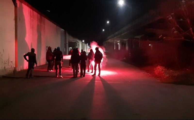 CPR di Milano: assalto al CPR degli attivisti milanesi