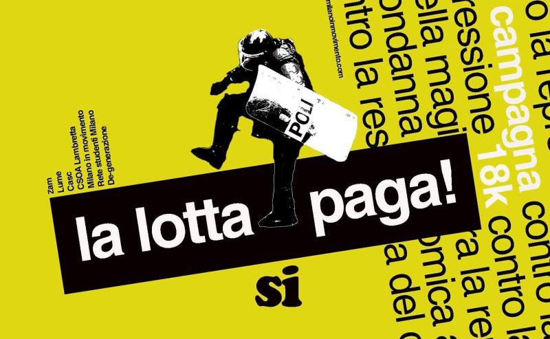 SPECIALE 18K – LA LOTTA (SI) PAGA