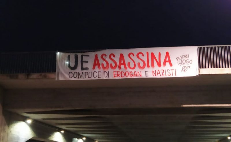 UE assassina – Complici di Erdogan e dei nazisti