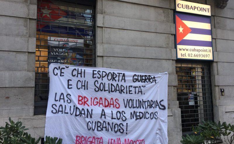 Milano ringrazia il popolo cubano