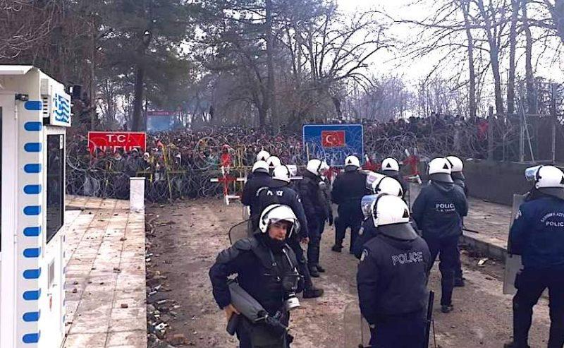 Fermare l'accordo UE-Turchia! Aprire canali umanitari!