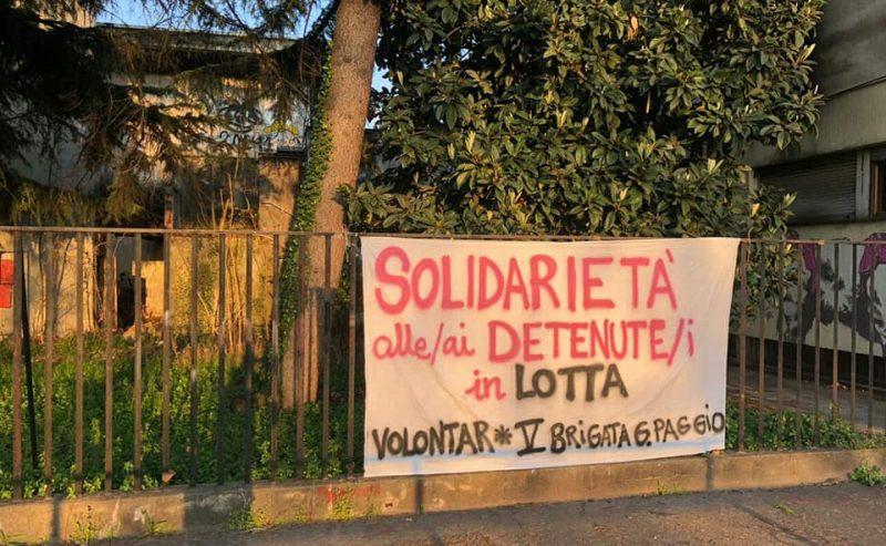 Le Brigate per l'emergenza solidali coi detenuti