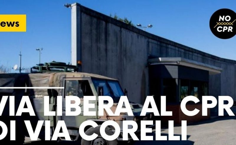 Via libera al Cpr di via Corelli