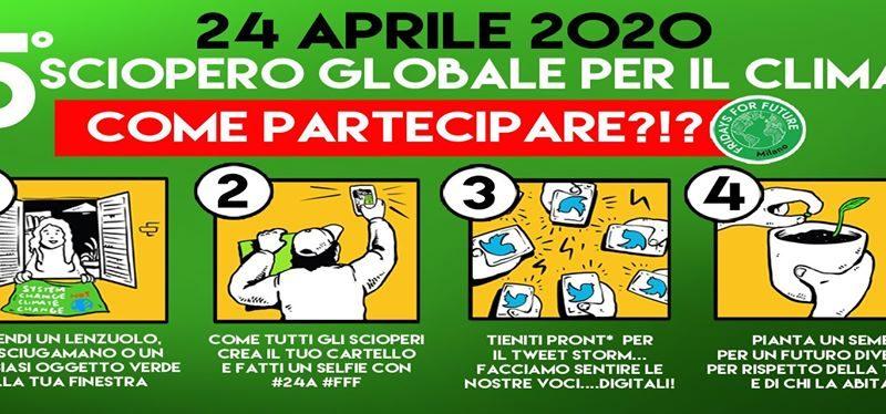 5º Sciopero globale (digitale) per il clima