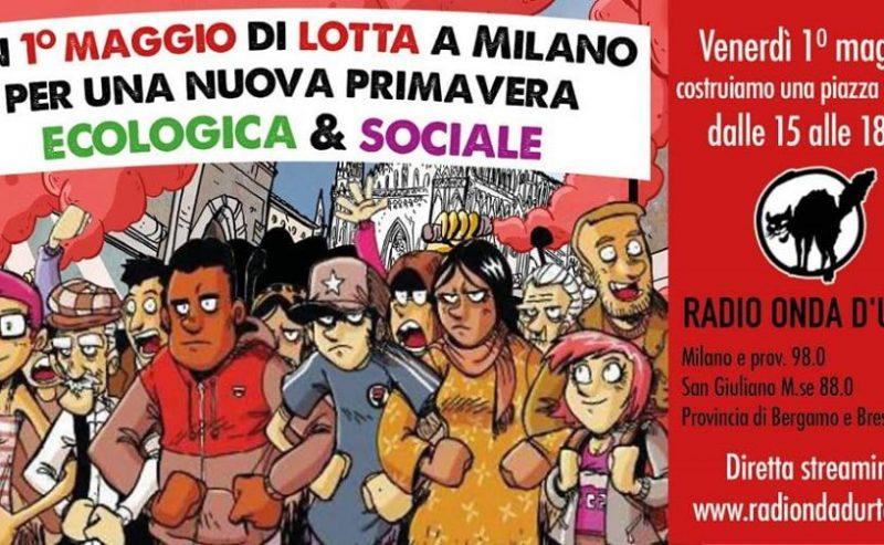 Un 1° Maggio di Lotta a Milano
