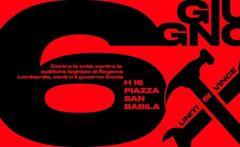 Per una Fase 2 delle Lotte – 6 giugno a Milano!