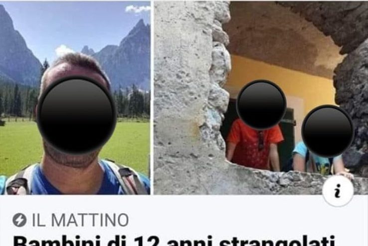 Il duplice omicidio di Margno e la bestialità dei media mainstream
