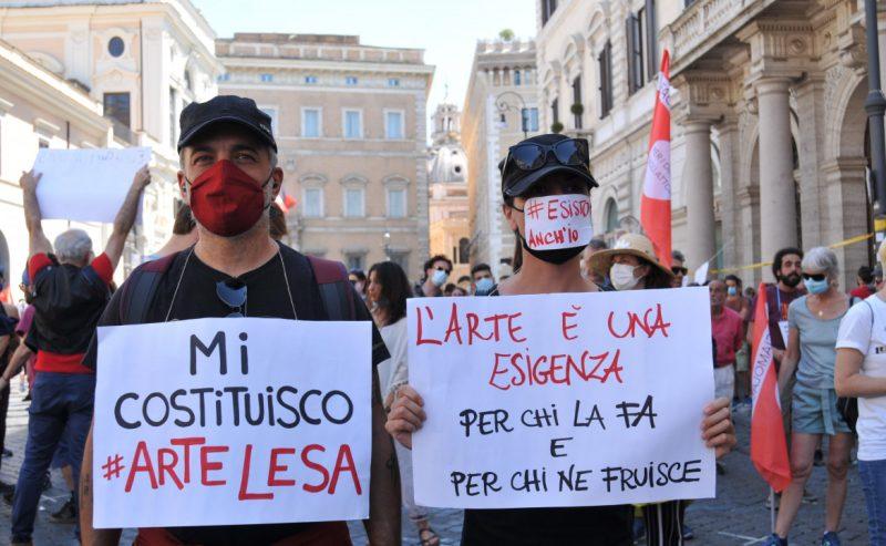 Roma – Diritto al reddito e tutele per il lavoro degli intermittenti dello spettacolo