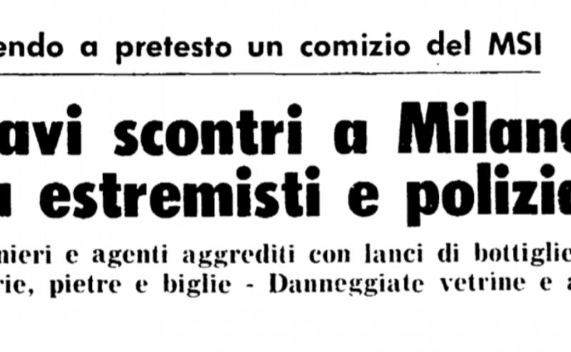 9 giugno '78 – Un decennio di lotte si conclude