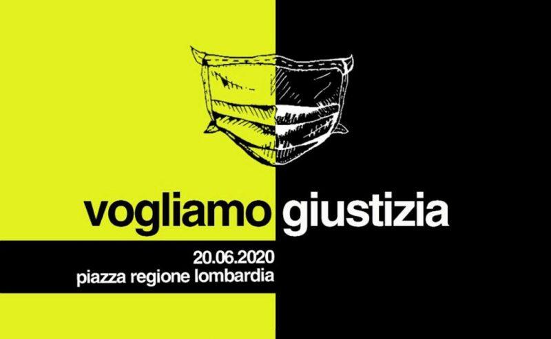 Vogliamo giustizia! – 20 giugno alle 15 sotto la Regione Lombardia!