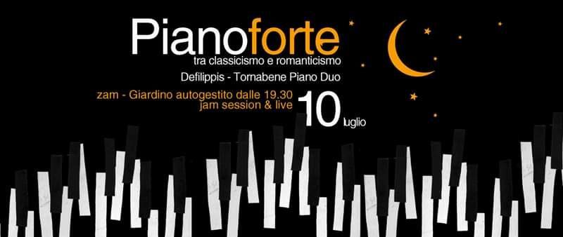 Pianoforte_tra classicismo e romanticismo live duo – 10 luglio @ ZAM