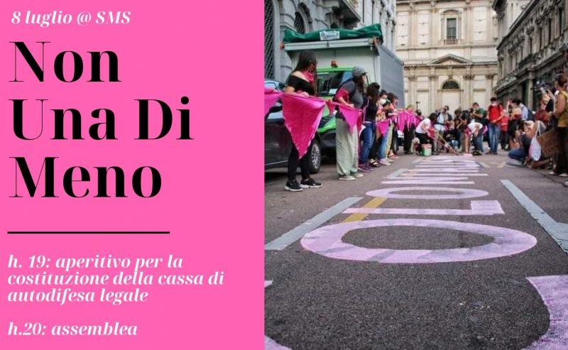 Non Una Di Meno – Milano: aperitivo solidale e assemblea