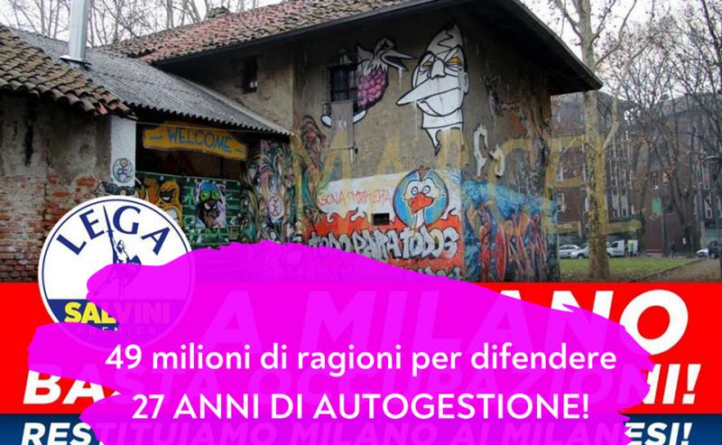 La Lega inizia la campagna elettorale a Milano partendo da Torchiera
