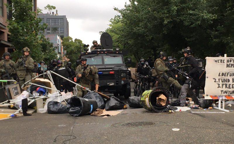 Usa – Sgomberata a Seattle la zona autonoma