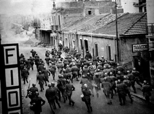 """50 anni fa i """"Boia chi Molla"""" di Reggio Calabria"""