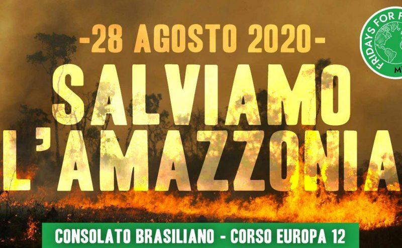 SOS Amazzonia – 28 agosto @ Consolato brasiliano