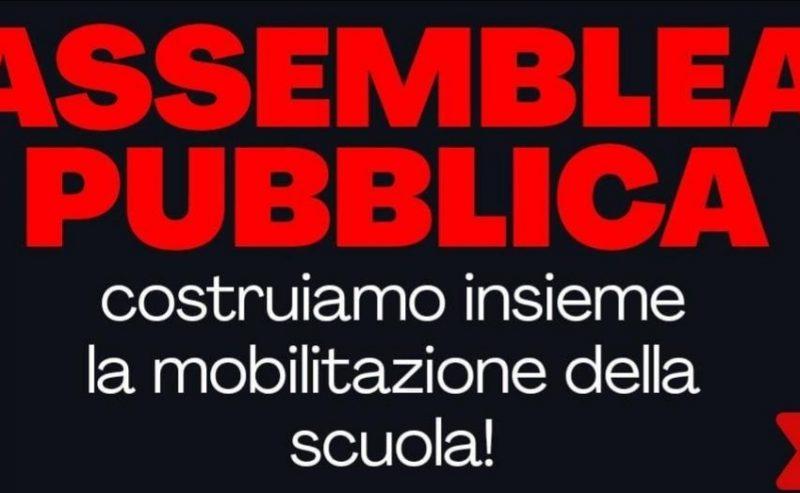 Costruiamo la mobilitazione della scuola! – Assemblea pubblica