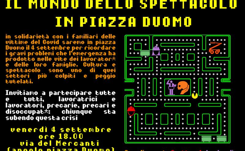 Il Mondo dello Spettacolo in Piazza Duomo – 4 settembre