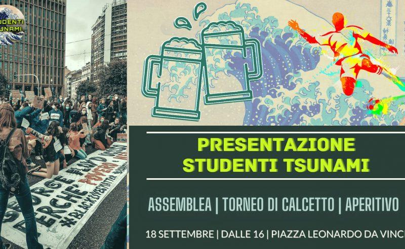 Presentazione Studenti Tsunami – 18 settembre @ piazza Leo