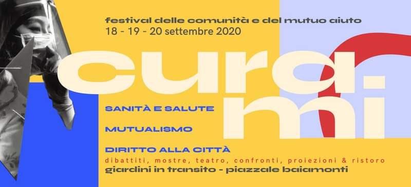CURAmi – Festival delle comunità e del mutuo aiuto – 18-20 settembre, Milano