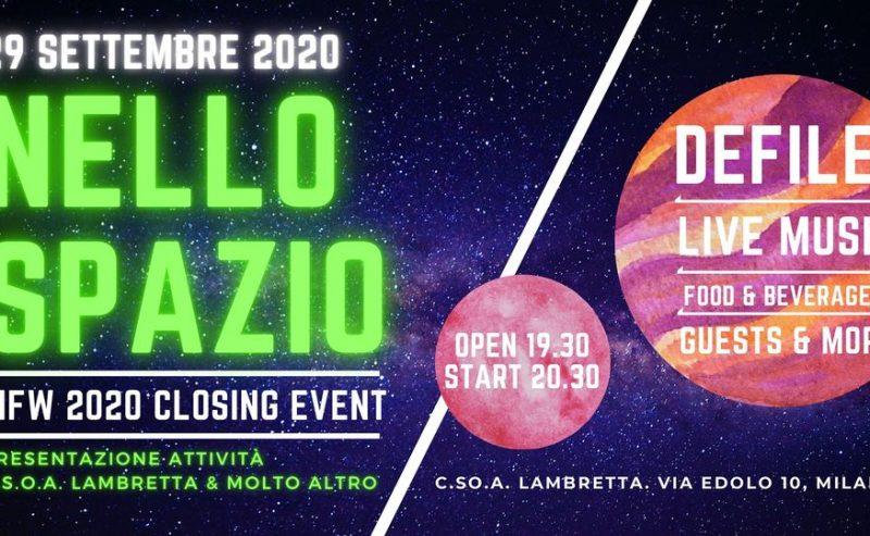 Nello spazio! – Sfilata finale della Milano Fashion Week