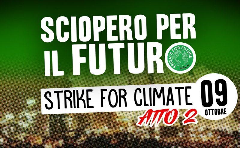 Scioperi per il futuro: atto II – Strike for climate