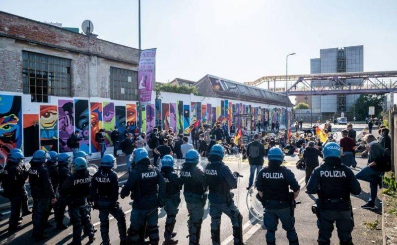 Milano, attivisti e attiviste bloccano l'apertura del Cpr