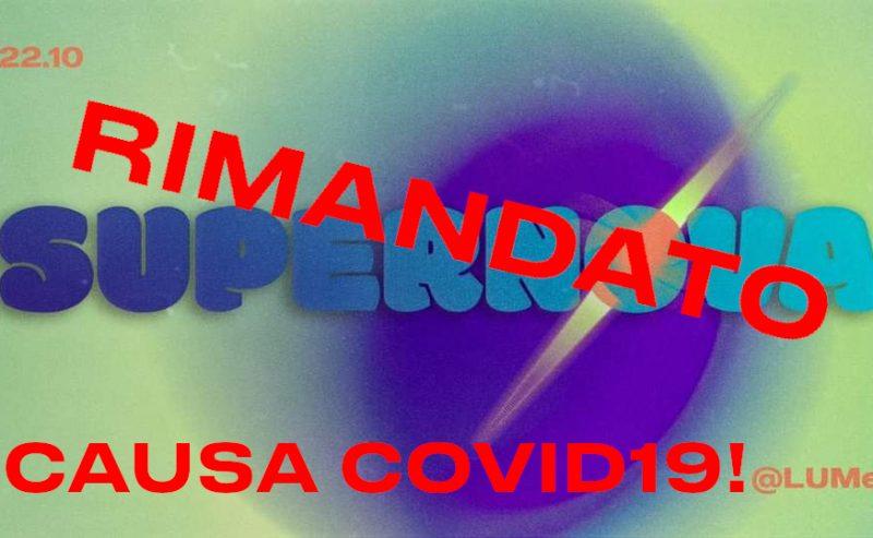 COVID19: LUMe rinvia l'inizio della stagione autunnale