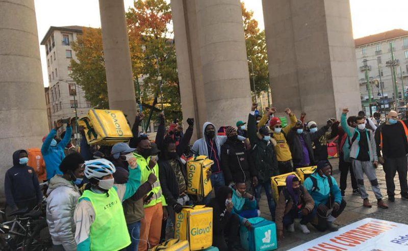 30 ottobre di lotta per i riders