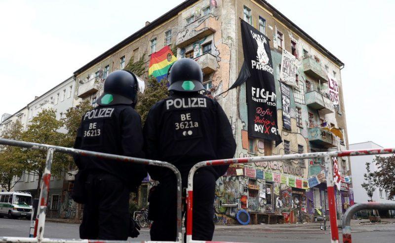 Berlino – Imminente lo sgombero di Liebig34